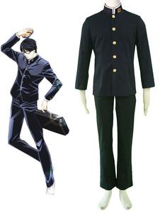 Sakamoto desu ga Sakamoto Cosplay Fantasia Sakamoto School Uniform Halloween