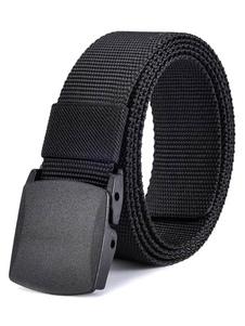 Прохладный черный случайные ремня пояса для мужчин