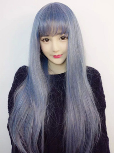 Carnaval Harajuku estilo de Anime Lolita Cosplay peluca Halloween