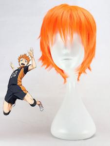 Haikyu!! Хината Syouyou косплей парик Хэллоуин