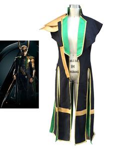 Carnaval Comic Cosplay traje de Vengadores Thor Loki Halloween Cosplay traje Marvel Halloween