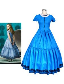 Алиса в стране чудес Алиса Платье Хеллоуин косплей костюм Хэллоуин