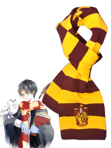Carnaval Harry Potter Harry James Potter Gryffindor bufanda Fim Cosplay accesorios Halloween