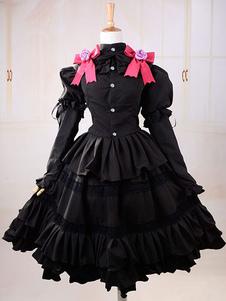 Дата живой Tokisaki Куруми Хэллоуин косплей костюм Лолита платье Хэллоуин