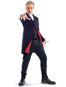 Médico que Peter Capaldi Cosplay terno traje de Halloween Halloween