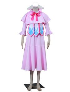 Costume Carnevale Fairy Tail Mavis vermiglio Carnevale Kawaii Cosplay Costume