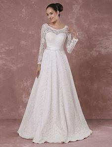 Mangas de novia vestido sin espalda largo vestido de novia vestido de novia-vestido de noche