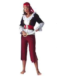 Trajes de fantasia pirata feminino Halloween