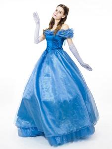 Disfraz de Cosplay de Cenicienta de Disney Halloween