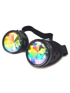 ريترو steampunk نظارات هالوين الرجال زي هالوين زينة هالوين