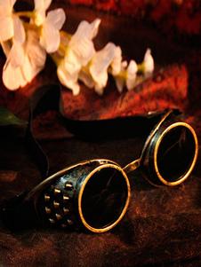 Disfraz Carnaval Steampunk Halloween gafas gafas bronce traje Vintage accesorios Halloween Carnaval