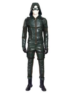 Стрелка сезон 5 зеленая стрелка Оливер Королева Хэллоуин косплей костюм Хэллоуин