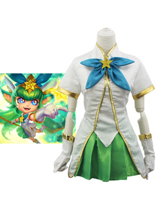Carnevale League Of Legend Lol Star Guardian Lulu Cosplay Costume Carnevale