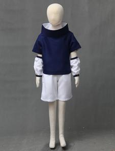 Наруто Учиха Саске Хэллоуин косплей костюм для малыша Хэллоуин