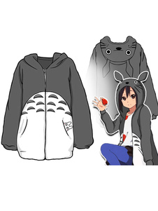 Carnevale Il mio vicino Totoro Totoro Anime inverno felpa con cappuccio Carnevale