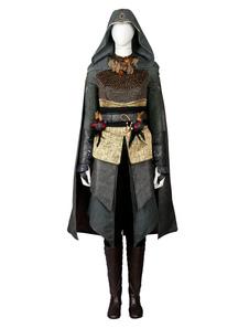 Inspirado em Creed filme Sofia Marion Cotillard traje Cosplay Assassins Halloween