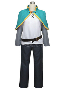 Disfraz Carnaval KonoSuba Satou Kazuma Cosplay traje Konosuba: Bendición de Dios en este mundo tan maravilloso! Traje de cosplay Halloween Carnaval