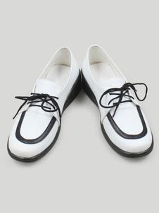 Rosario and Vampire Cosplay Sapatos para mulher Lã Arteficial calçado  Halloween