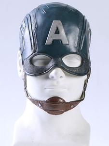Carnaval Captain America Capitán América Steven Rogers Cosplay Máscara Cosplay Hamlet Halloween