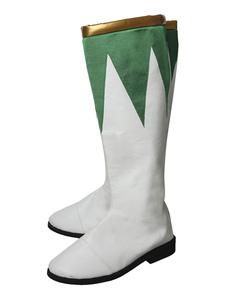 Power Rangers Cosplay Sapatos para homem calçado  Halloween
