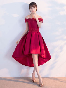 Бюстгальтерские платья для выпускного вечера с короткими выпускными платьями 2020 с атласной вышивкой из бисера