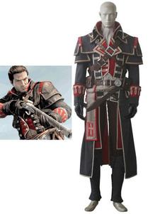 Вдохновленный Assassin? Creed Unity Halloween Cosplay Costume Хэллоуин