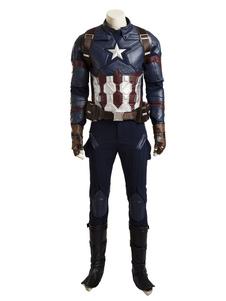 キャプテンアメリカンスティーブロジャースハロウィンコスプレ衣装 ハロウィン