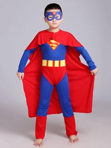 コスプレ衣装 キッズ用 男の子用 スーパーマン  ハロウィン
