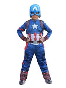 コスプレ衣装 キッズ用 キャプテン・アメリカ 男の子用  ハロウィン