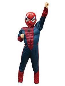 コスプレ衣装 キッズ用 男の子用 スパイダーマン  ハロウィン