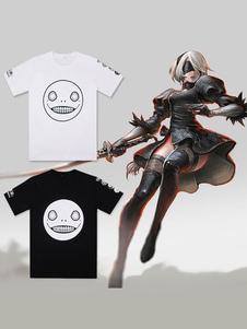 NieR Automata Game Прохладная футболка Хэллоуин