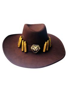 Overwatch Ow Mccree Cosplay Hat Cosplay Props Halloween