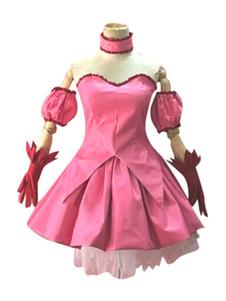 Tokyo Mew Mew As Super Gatinhas Poliéster-algodão Anime Japonês conjunto para mulher cor de rosa