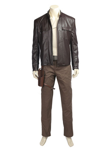 Star Wars 8 O Último Jedi Poe Dameron Halloween Cosplay Costume