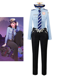Carnaval Disfraz Overwatch Halloween Overwatch con pantalones&con corbata&con cinturón&con gorra&con camisa&con guantes