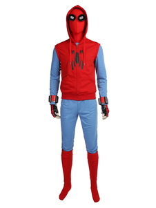 Carnaval Disfraz de Cosplay Spiderman Homecoming Peter Parker Marvel Comics