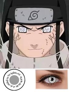Carnevale Naruto Hyuga Neji Byakugan White Halloween Lenti a contatto Cosplay 2020