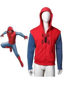 Carnevale Spider-Man Costume Cosplay in flanella top