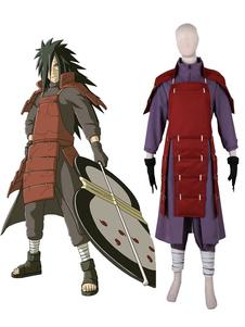 Disfraz Carnaval Traje para cosplay de Naruto de Uchiha Madara de Naruto Obi&con pantalones&con armadura&con guantes&con armadura&con Top Carnaval