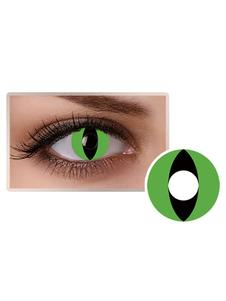 الأخضر القط العين التجميل تأثيري حزب الملونة العين العدسات اللاصقة