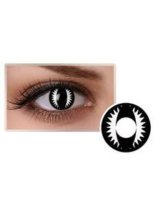 Colored Party Cosmetic Cosplay Black Maquiagem Circle Lens