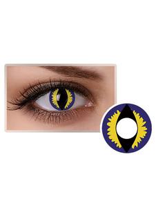 الملونة العين العدسات اللاصقة الأزرق للجنسين حزب التجميل تأثيري ماكياج دائرة عدسة