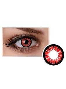 العين الحمراء العدسات اللاصقة مستحضرات التجميل تأثيري حزب دائرة عدسة