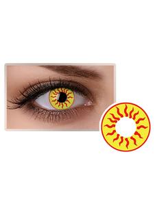 الملونة الشمس للجنسين العين العدسات اللاصقة حزب تأثيري مستحضرات التجميل عدسة