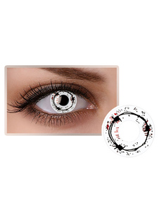 Black Sound Wave Party Cosmetic Cosplay Unisex Maquiagem Circle Lens
