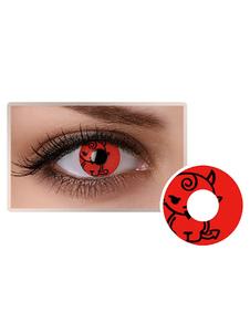 الأحمر الوحش العين العدسات اللاصقة التجميل تأثيري حزب الملونة دائرة عدسة