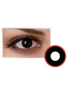 Lentes de contato com os olhos Black Party Cosmetic Cosplay Unisex Makeup Circle Lens