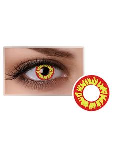 الأحمر التجميل تأثيري حزب الملونة العين العدسات اللاصقة