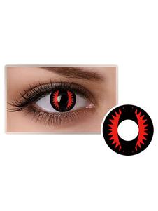 Cosmetic Cosplay Party lentes de contato unisex com olhos pretos