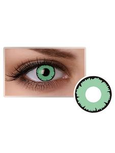 Lentes de contato com olhos verdes Cosplay Cosplay Party Colored Circle Lens